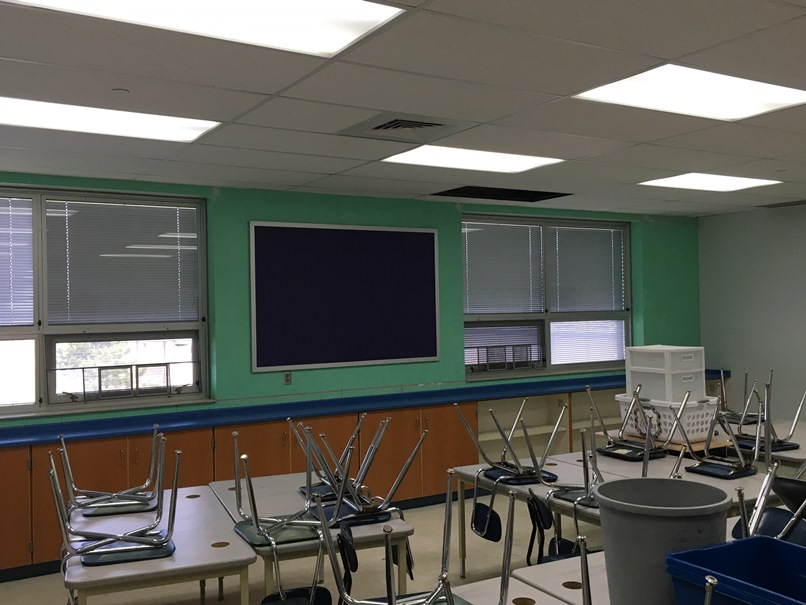 Photo of another elementary classroom.