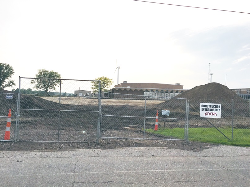 Photo of the construction.