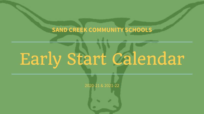Early Start Calendar