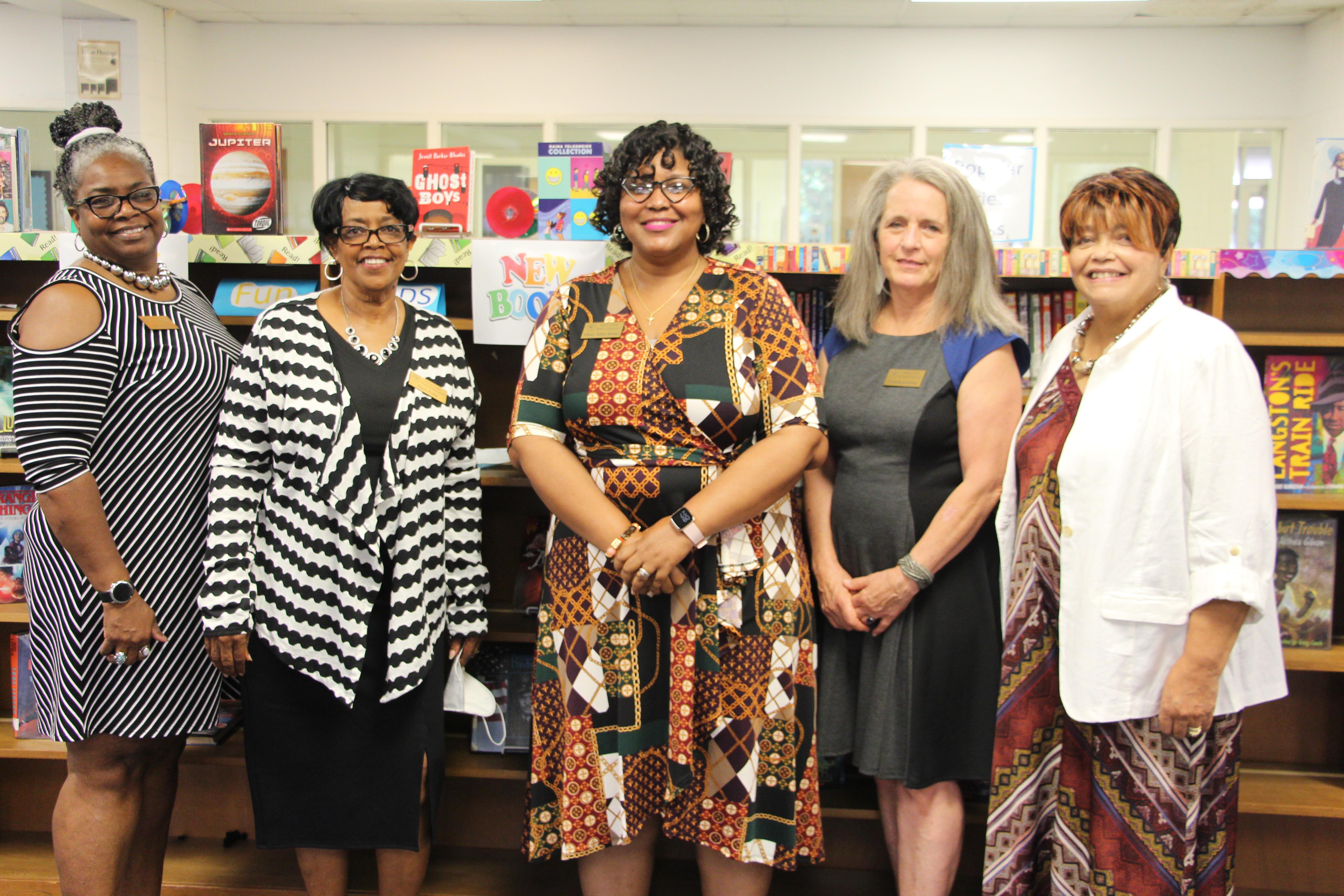 Jennifer Sims, Joyce Long,Ebony Talley-Brame,Victoria Lehman, Linda Byrd.