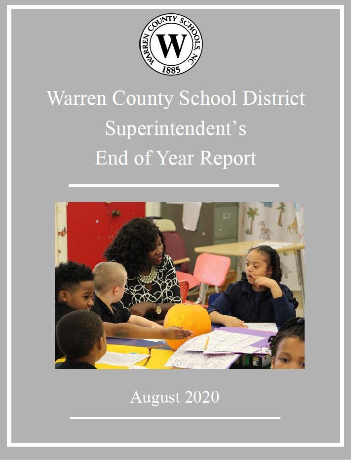 Warren County School District Superintendent's End of Year Report