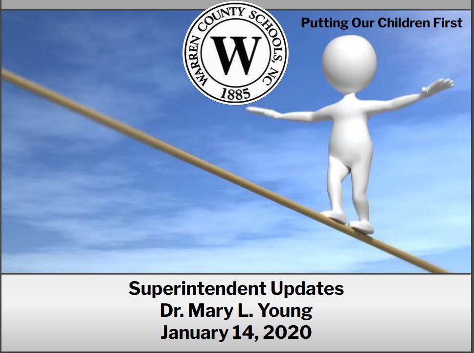 Superitendent's Update