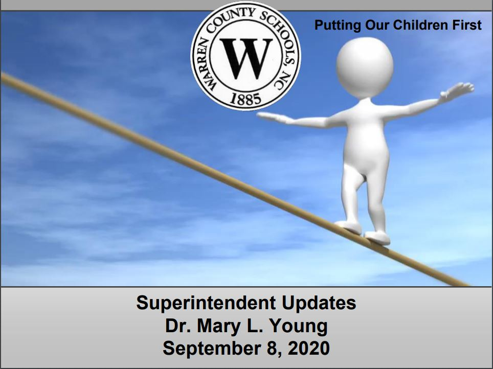 Superintendent's Page