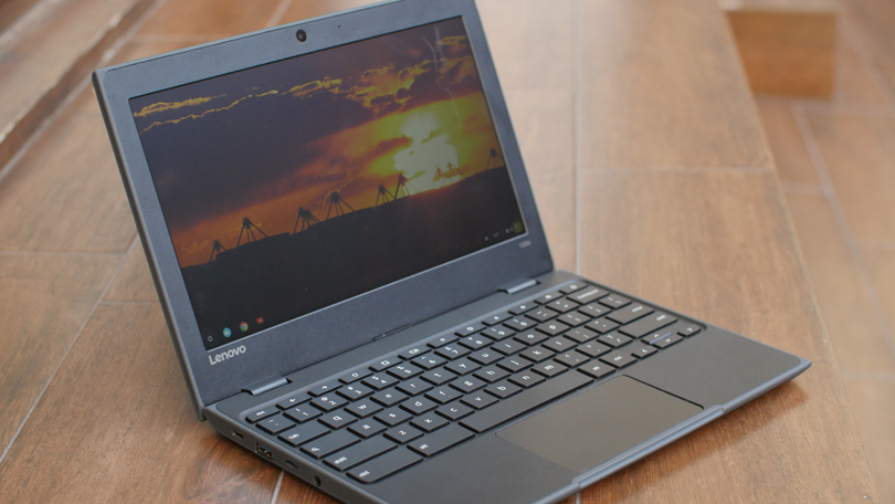 Photo of a laptop.