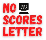 no scores letter