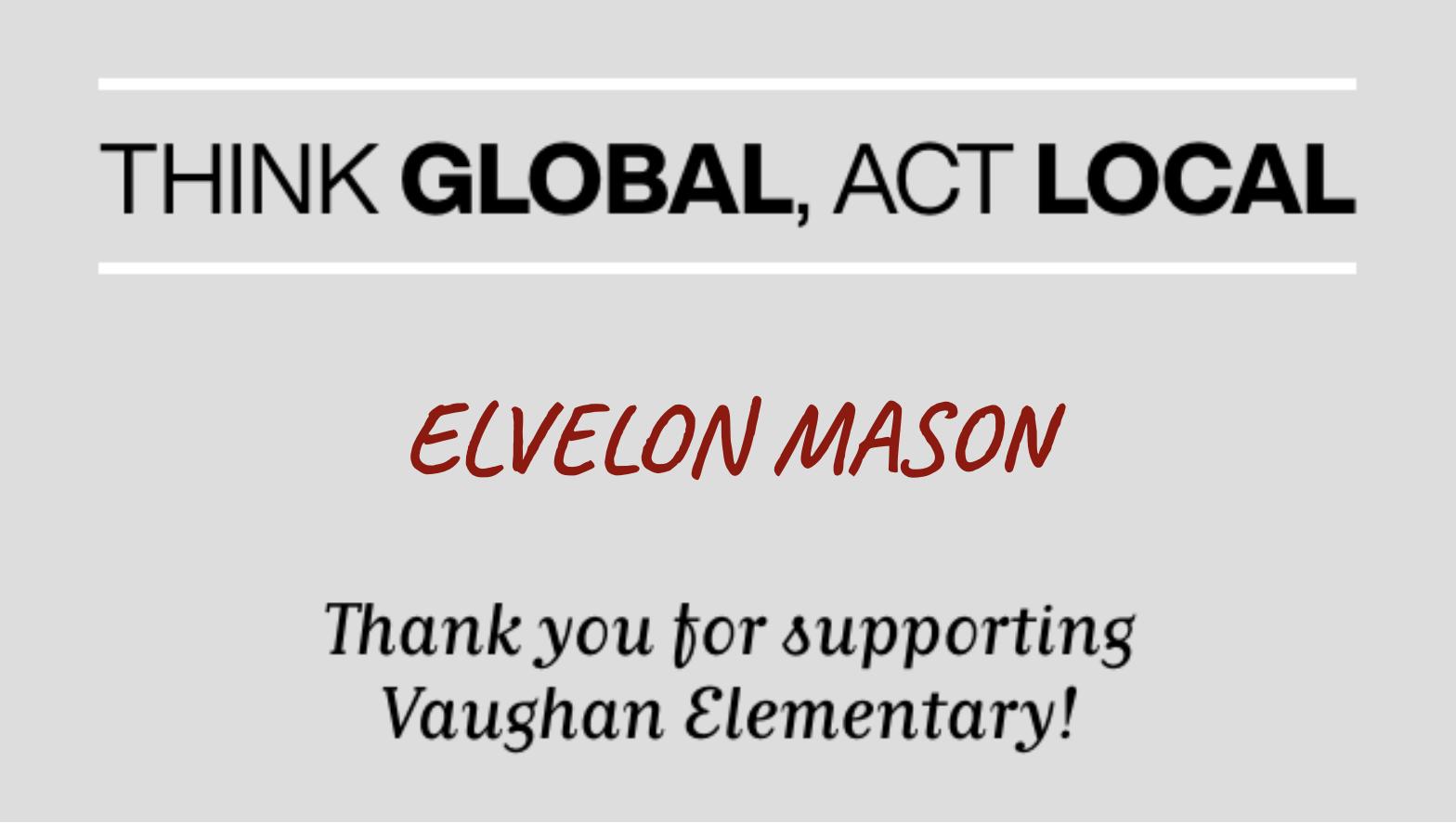ELVELON MASON