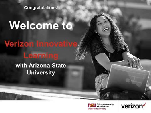 WCMS on the Move! WCMS wins grant to be able to work with Verizon and Arizona State University in the Verizon Innovative Learning Curriculum Expansion Program