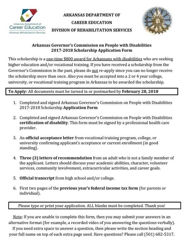 ARKANSAS DEPARTMENT OF CAREER EDUCATION