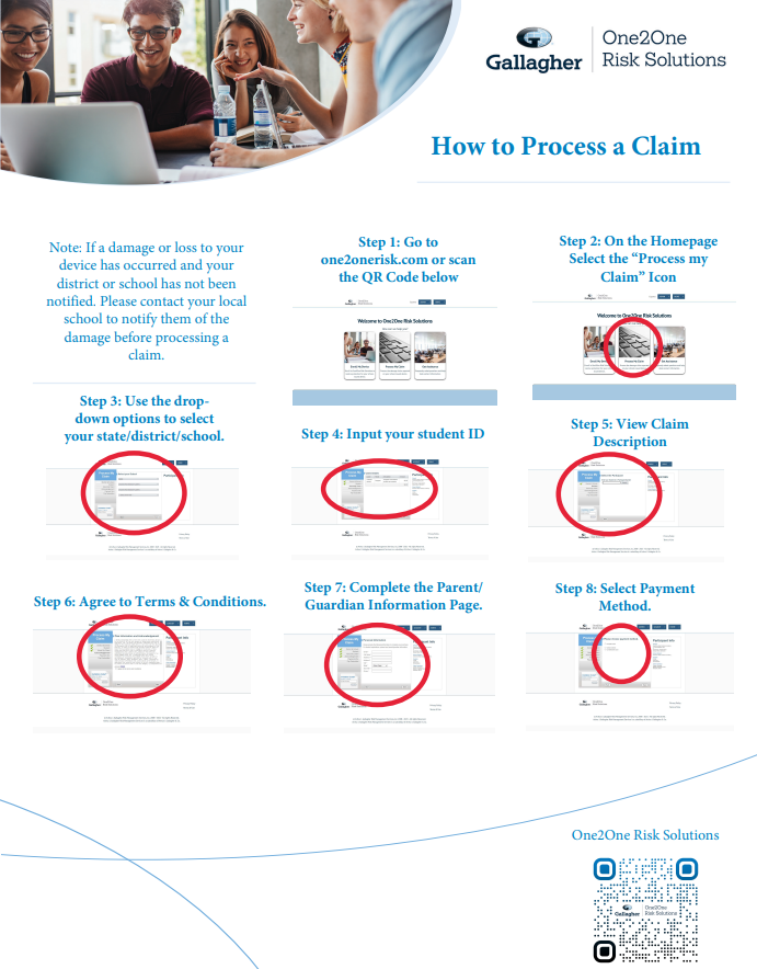 How to Process a Claim
