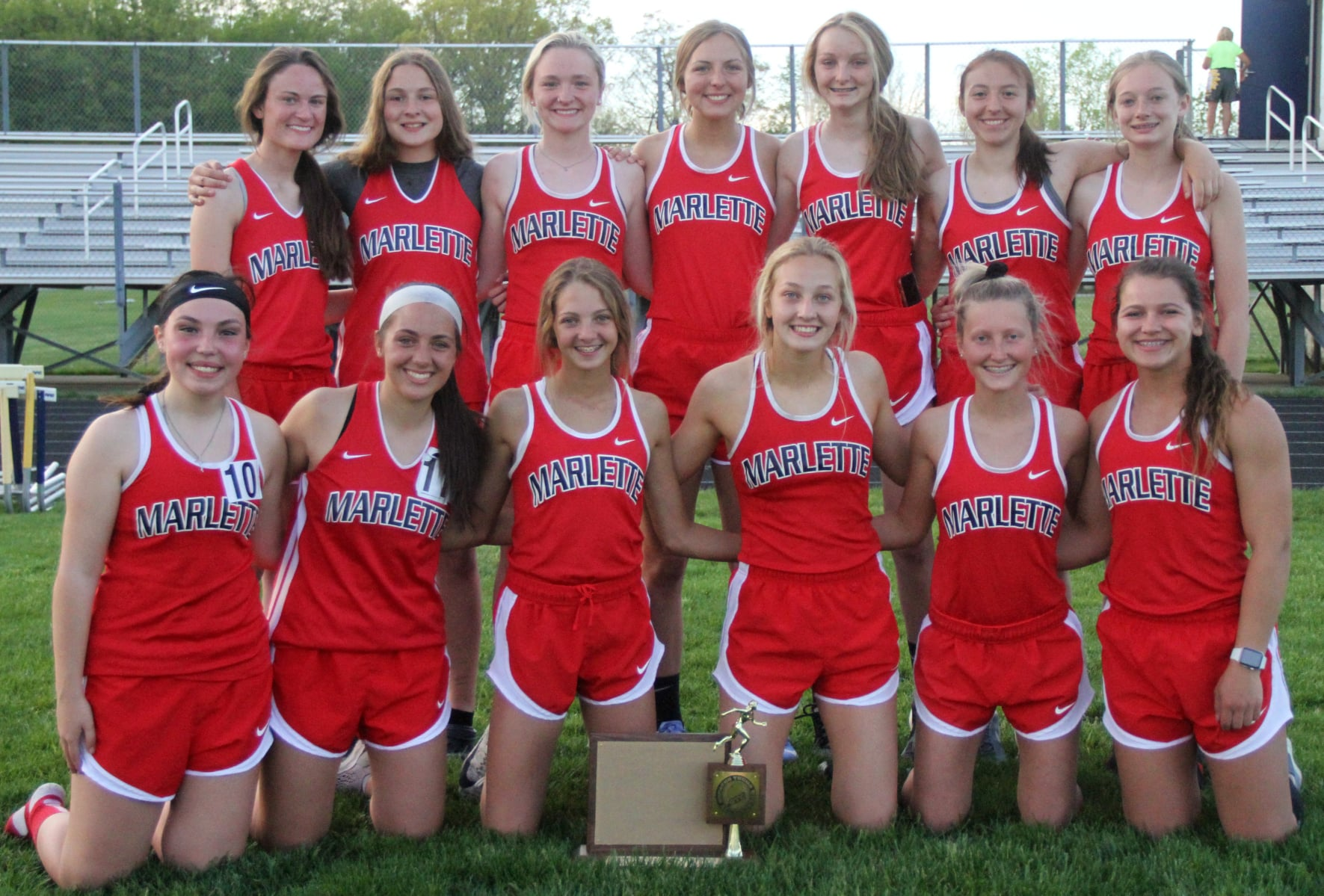 Girls Track League Champs