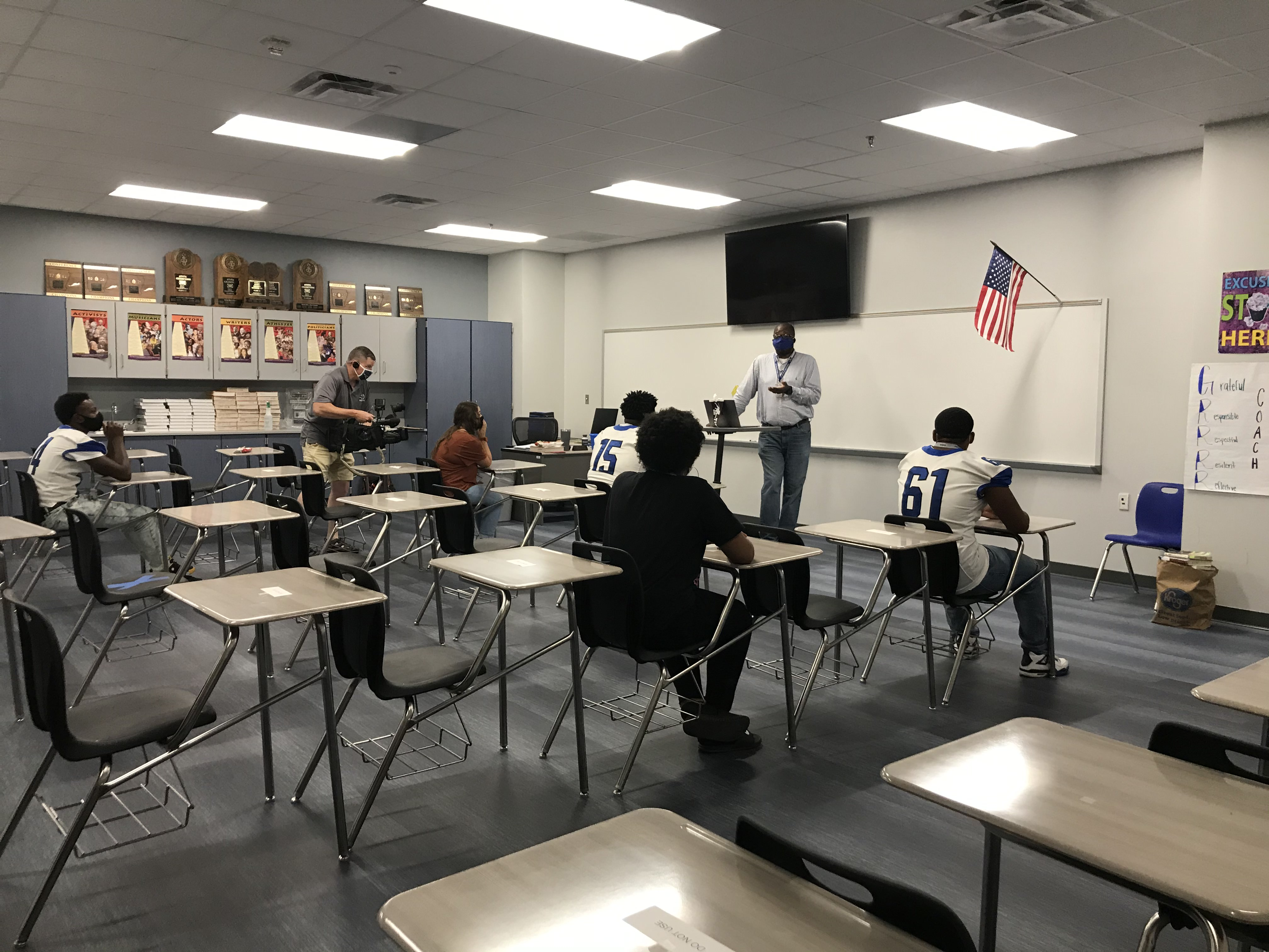 KATV: Blended learning burnout: Arkansas teachers contend with new expectations