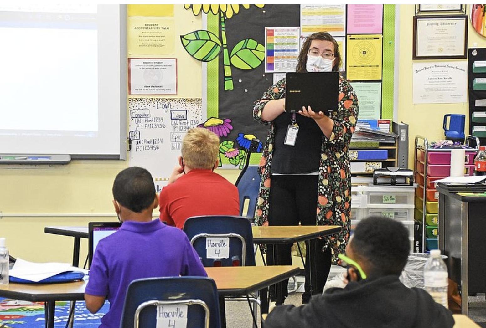 Arkansas Democrat Gazette: School End 1st Week