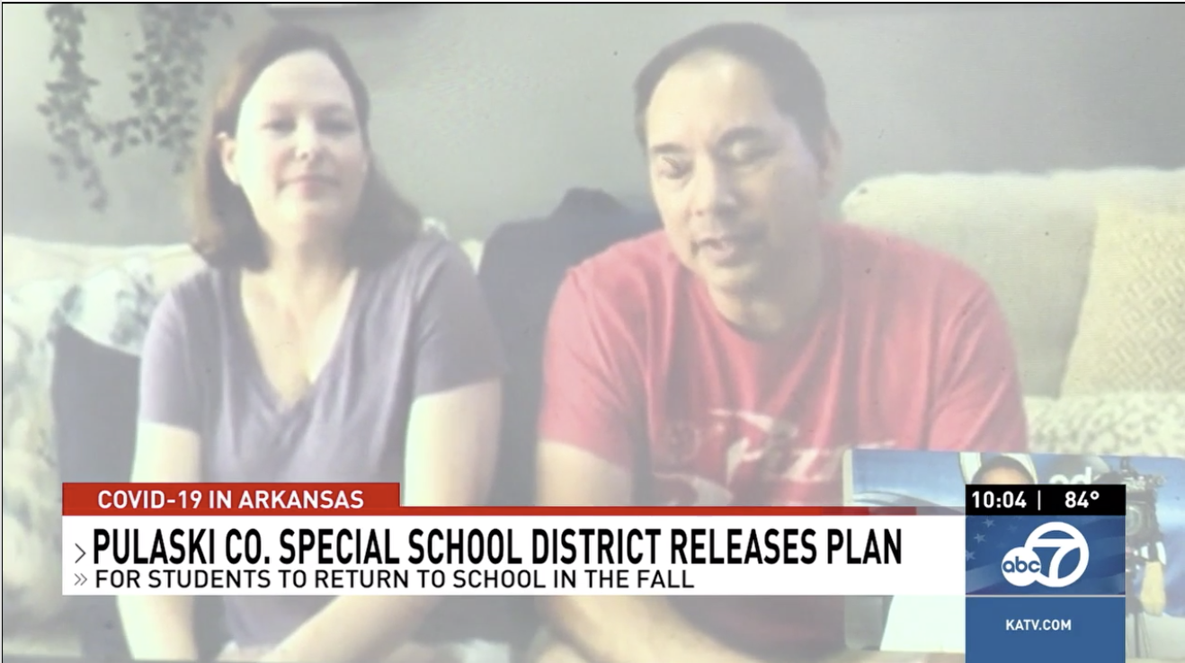 KATV:  Parents share thoughts on returning to school