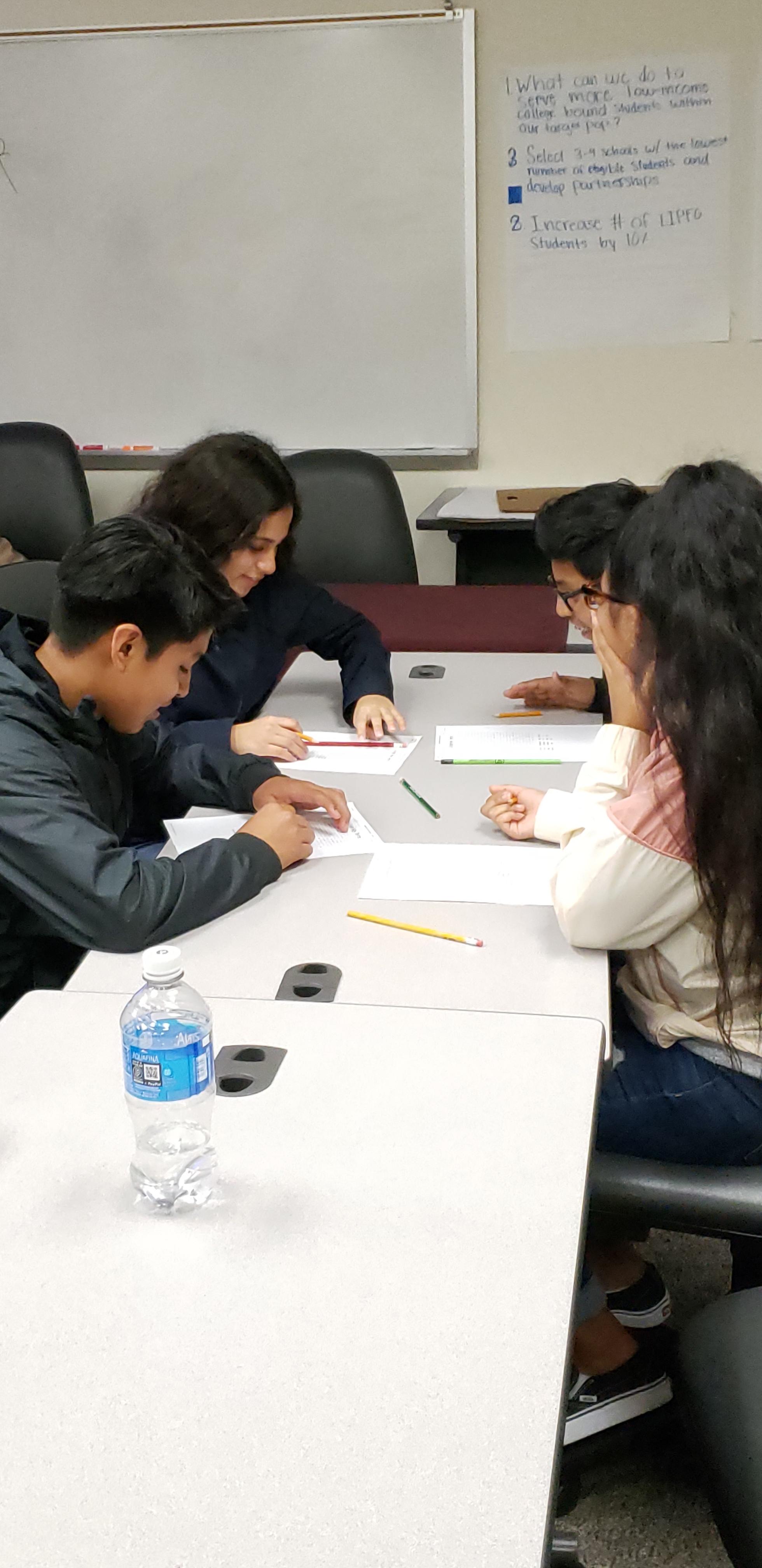 Robinson High School ESOL visit UA-Little Rock