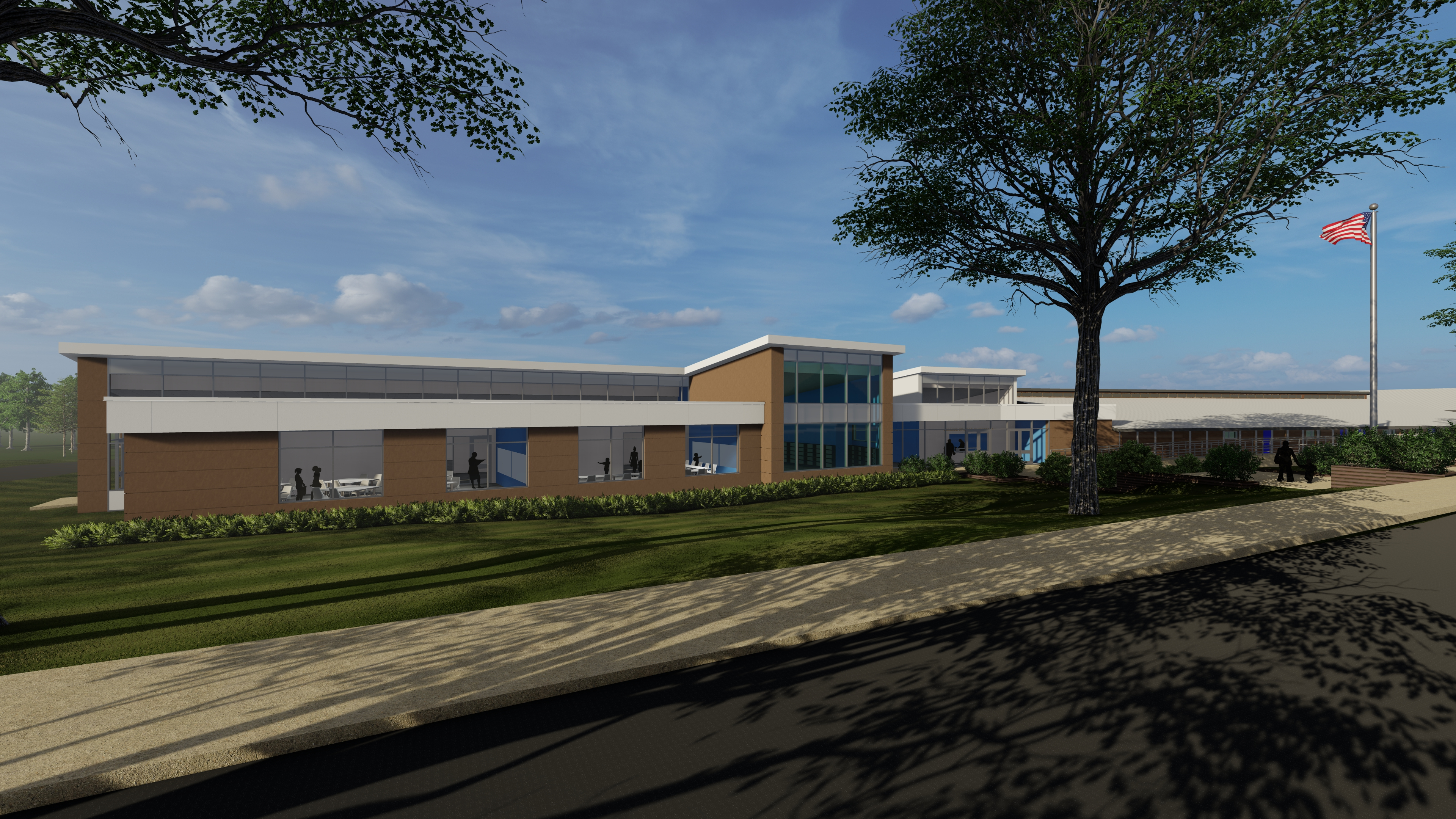 College Station Rendering