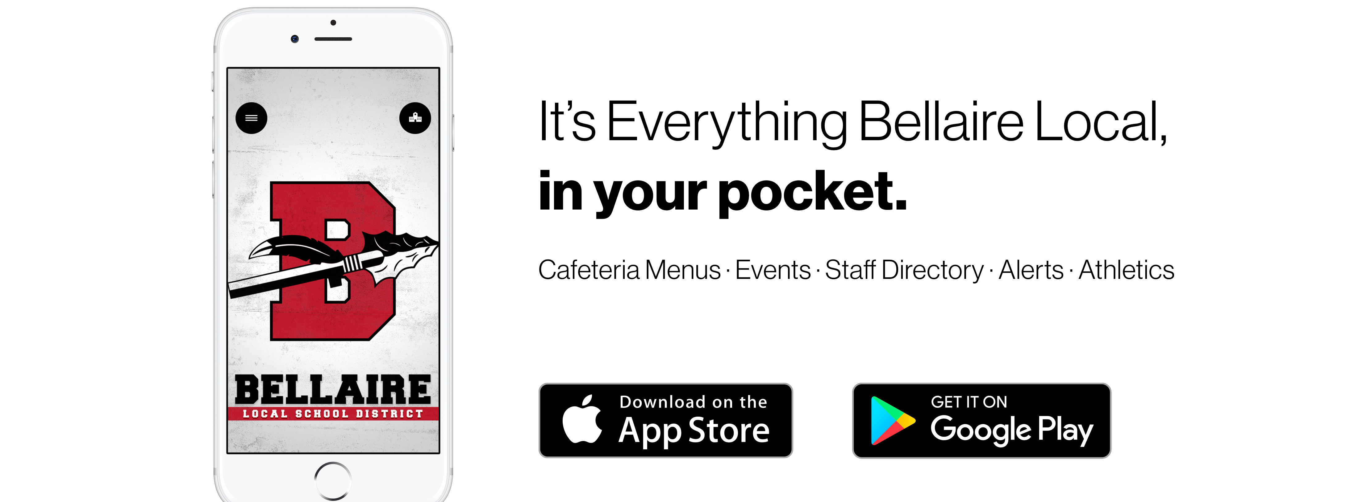 Download our mobile app on ios and android