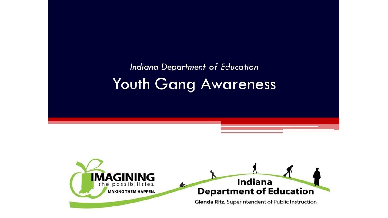 Youth Gang Awareness Slides