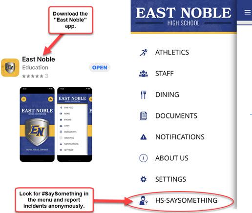 East Noble App