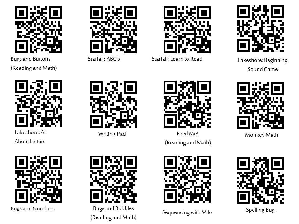 Elem QR Codes