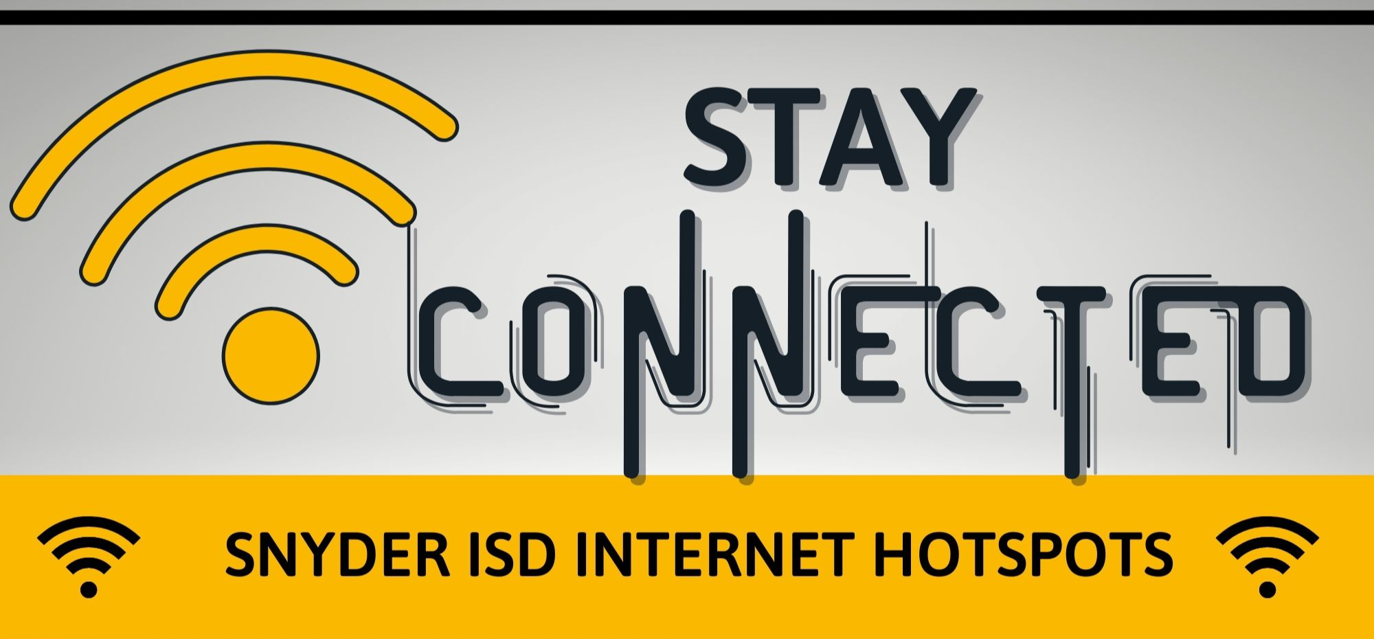 Stay Connected SISD Wifi Hot Spots