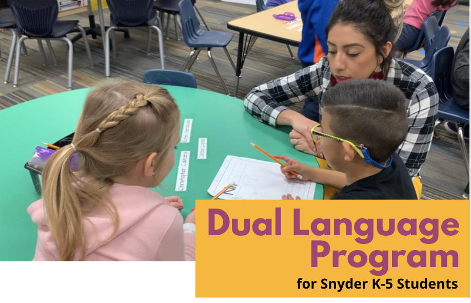 Dual Language Program Grades K-5