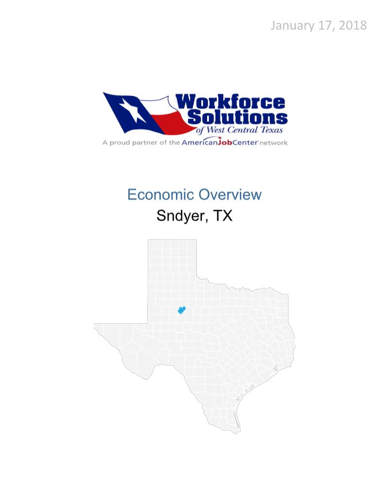 Workforce Solutions Report
