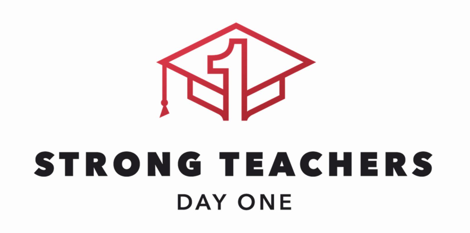 Strong Teacher Day One Logo