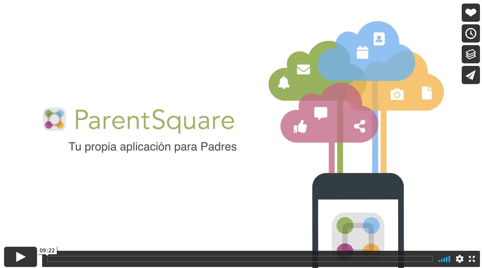 ParentSquare App Click for Spanish Video