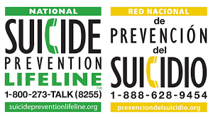 Suicide Prevention Hotline IMage  800-273-8255