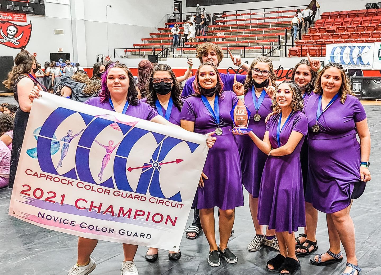 Colorguard Championship Photo