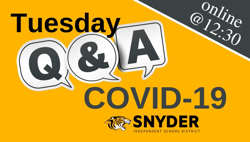 Tuesday Q&A