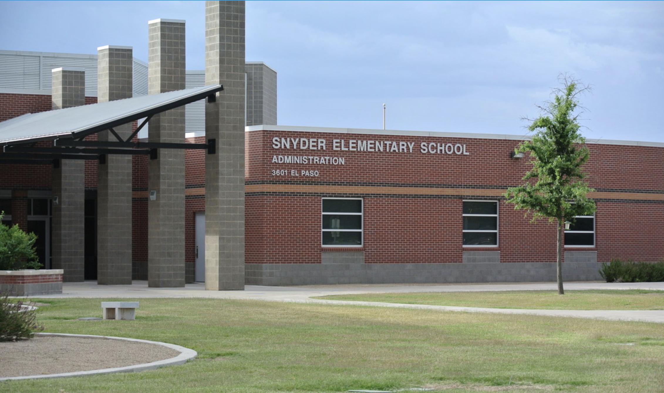 Snyder Primary 3601 El Paso Ave, Snyder, TX 79549