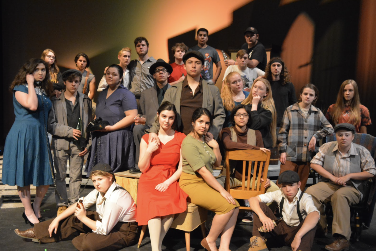 Photo of high school theatre company
