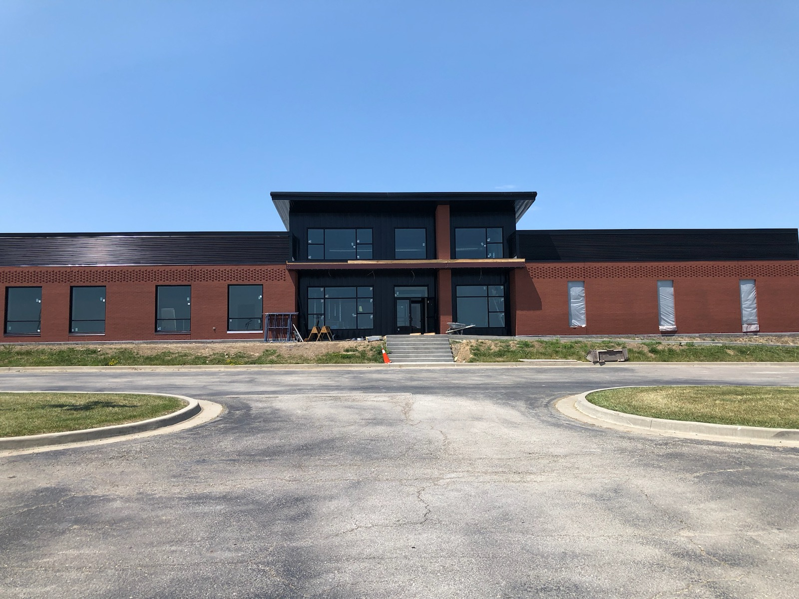 New Administration Office Nears Completion