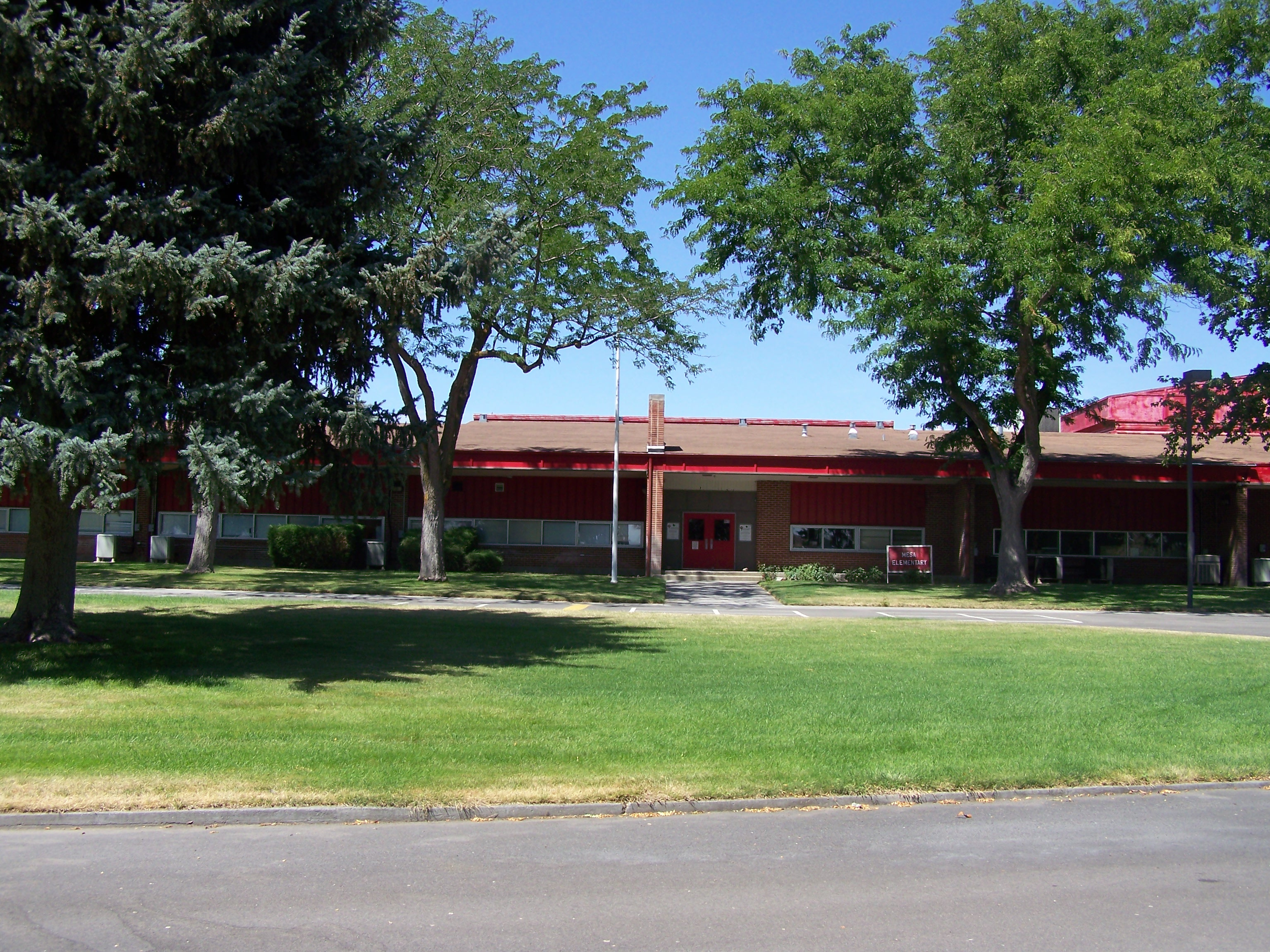 The building of MESA Elementary