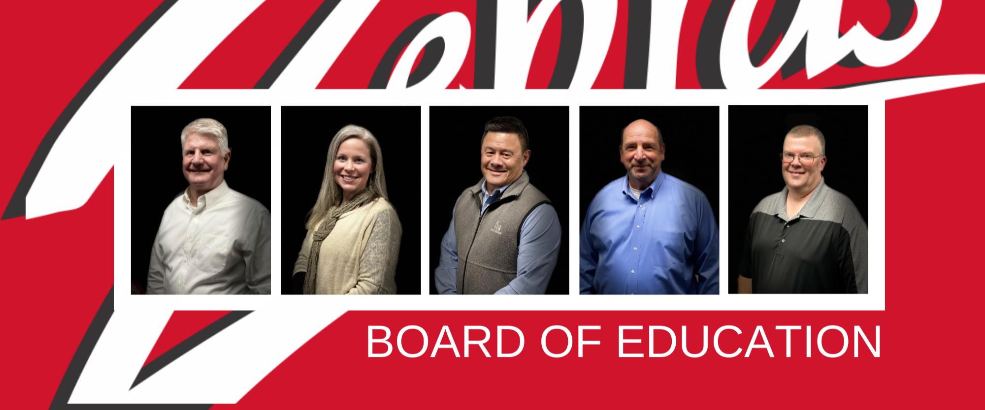 photo of board of education members