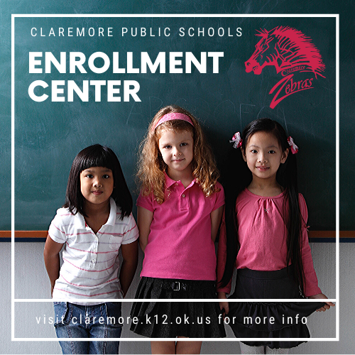 claremore public schools enrollment center