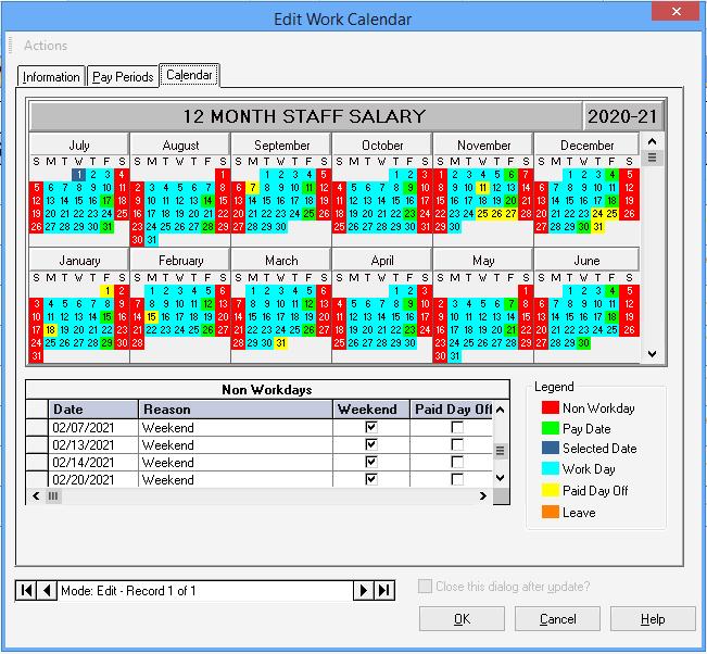 12-month Salary