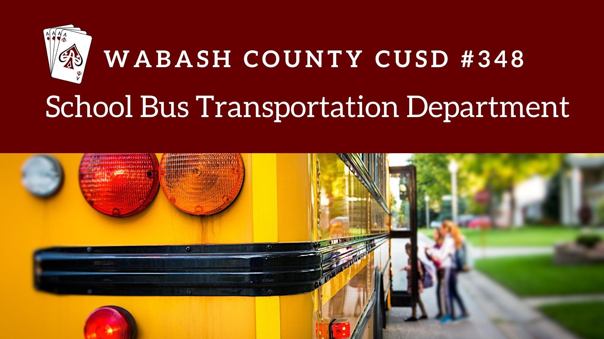 School Bus Transportation Department
