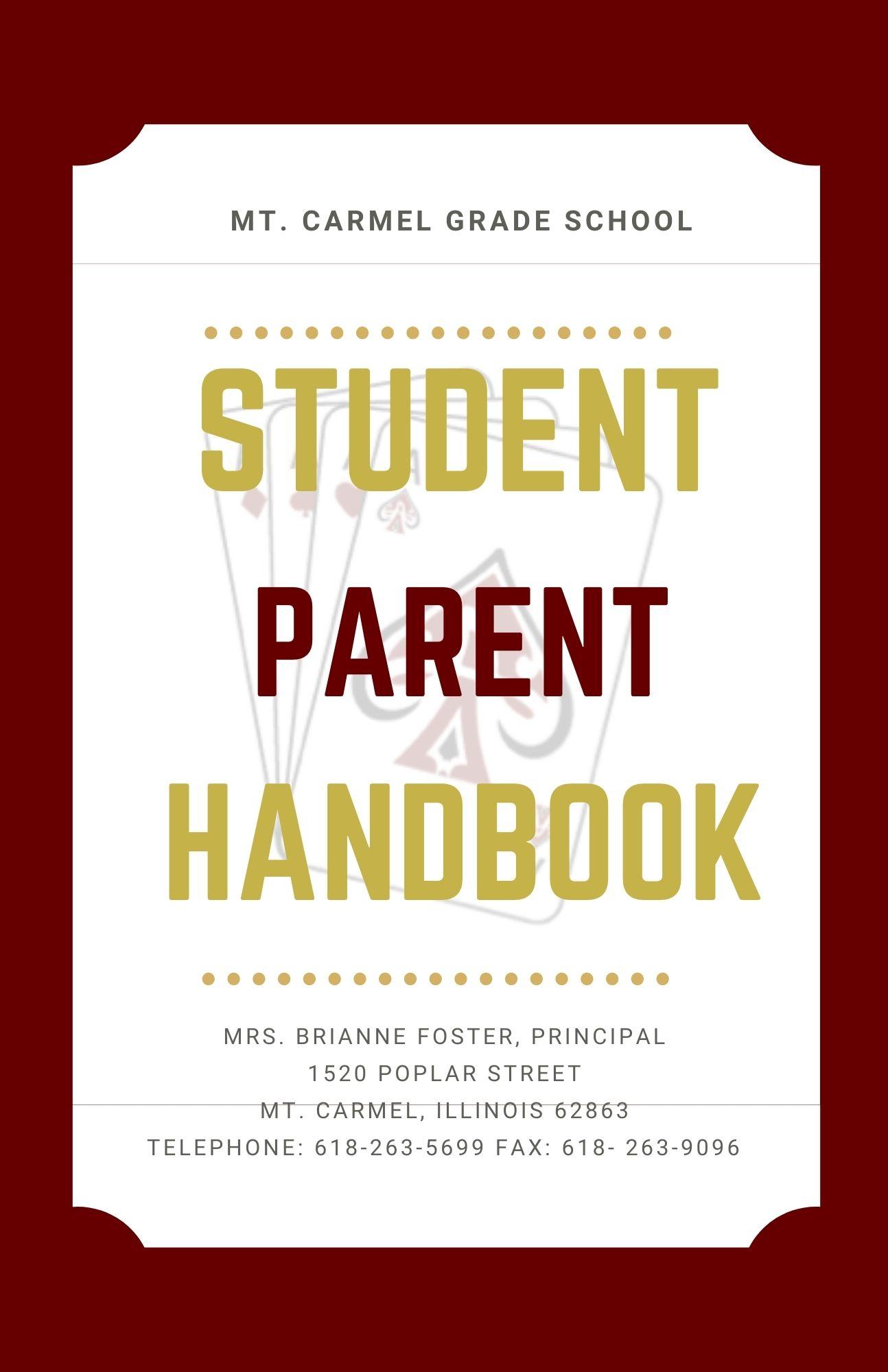 MCGS student parent handbook