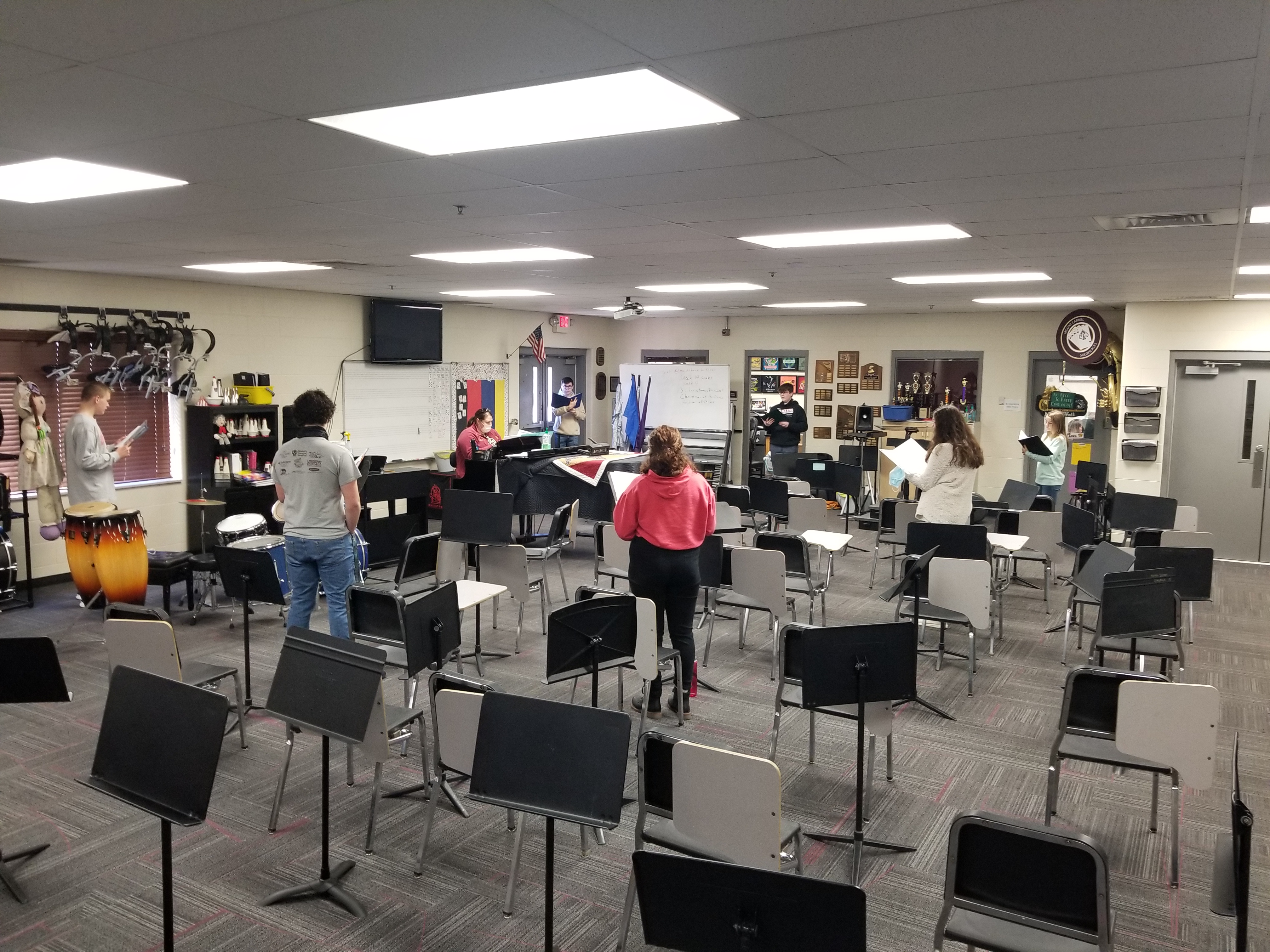 Practicing for Caroltunes
