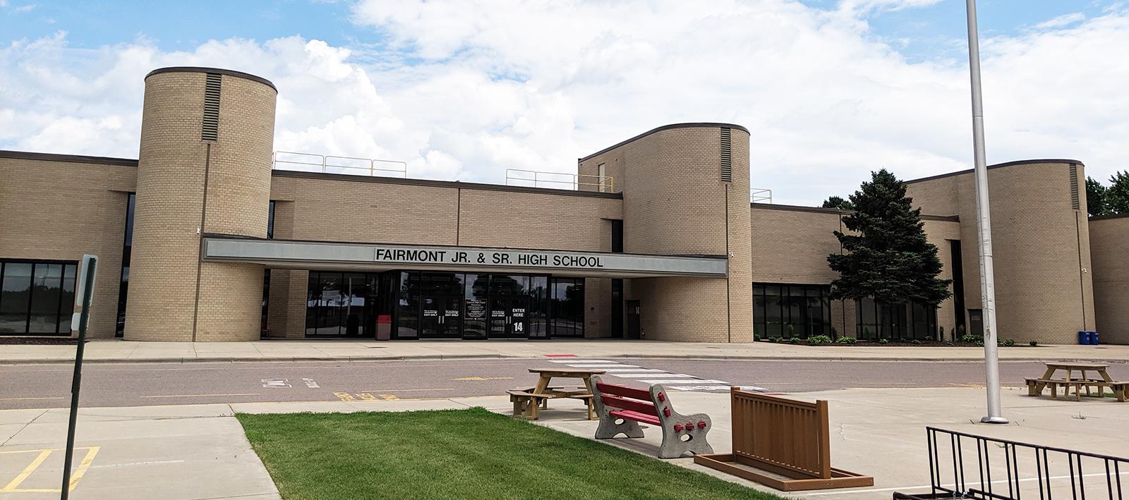 Horseshoe High School Entrance