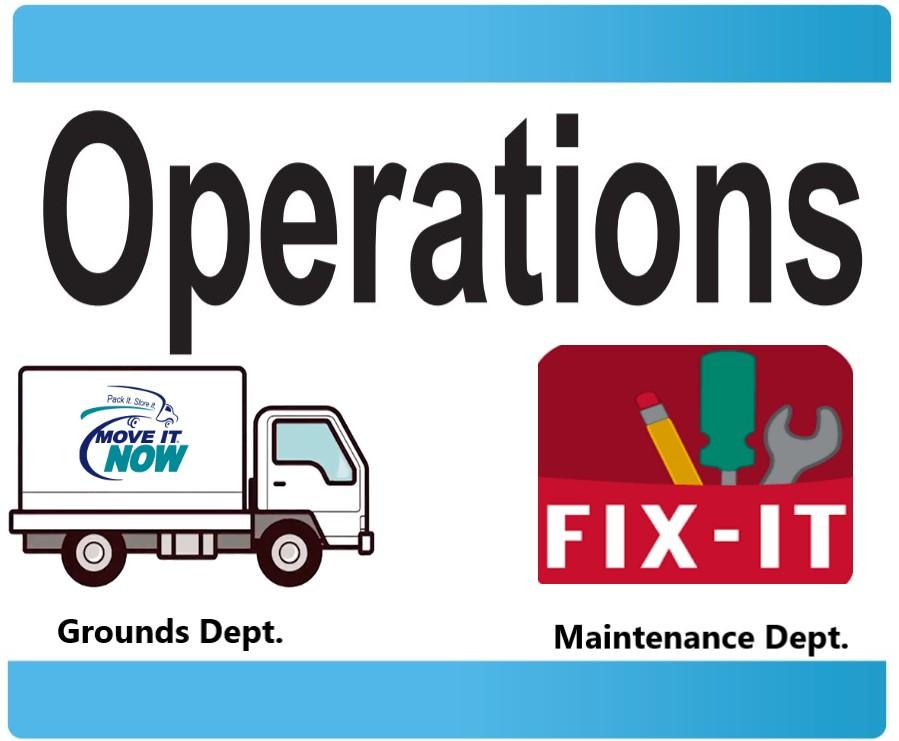 Fix it / Move It Operations Department
