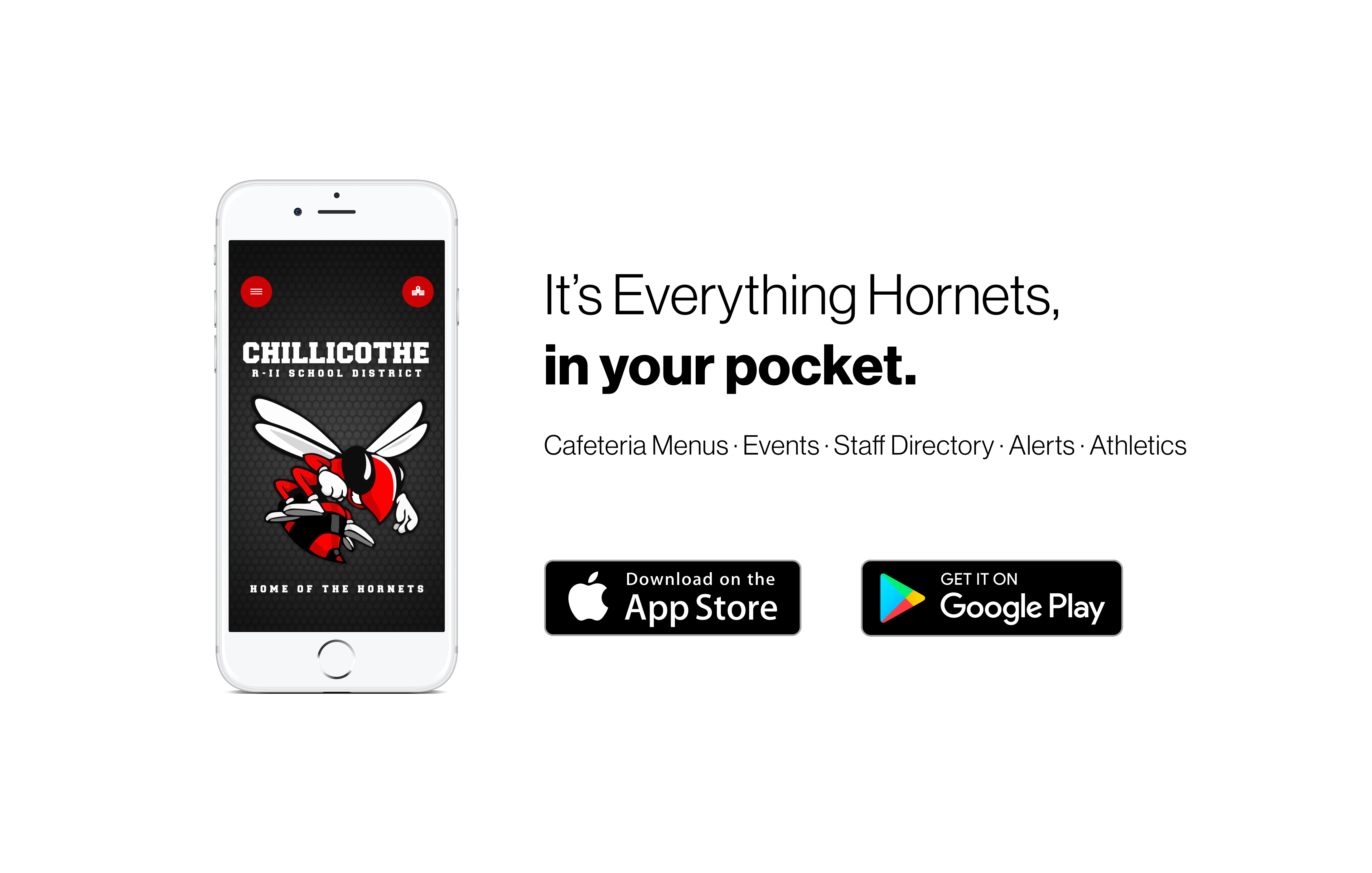 Download the app today to stay up to date with everything!