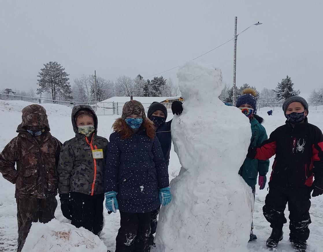Elementary New Snow fun.