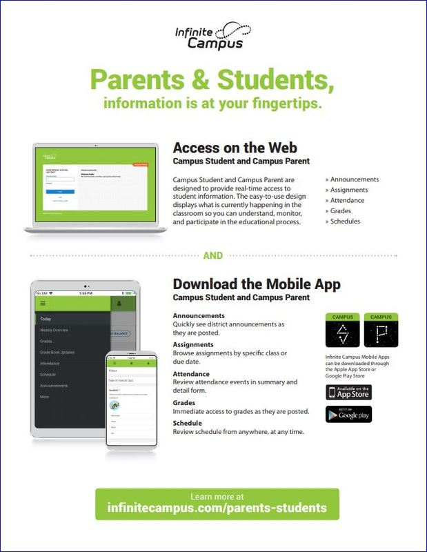 Infinite Campus Parents & Students