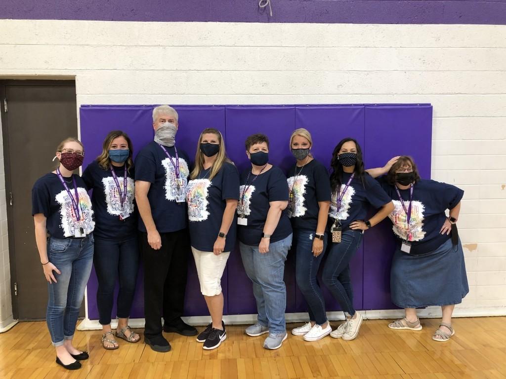 4th grade teachers posing for a photo
