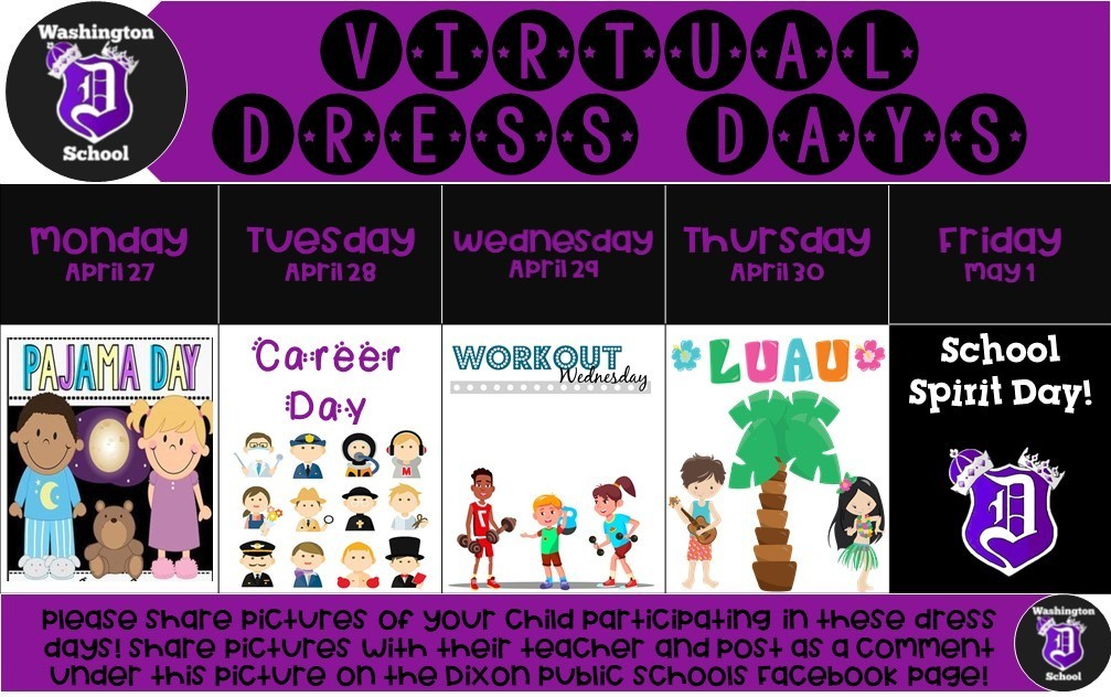 Dress Days for the Week of April 27