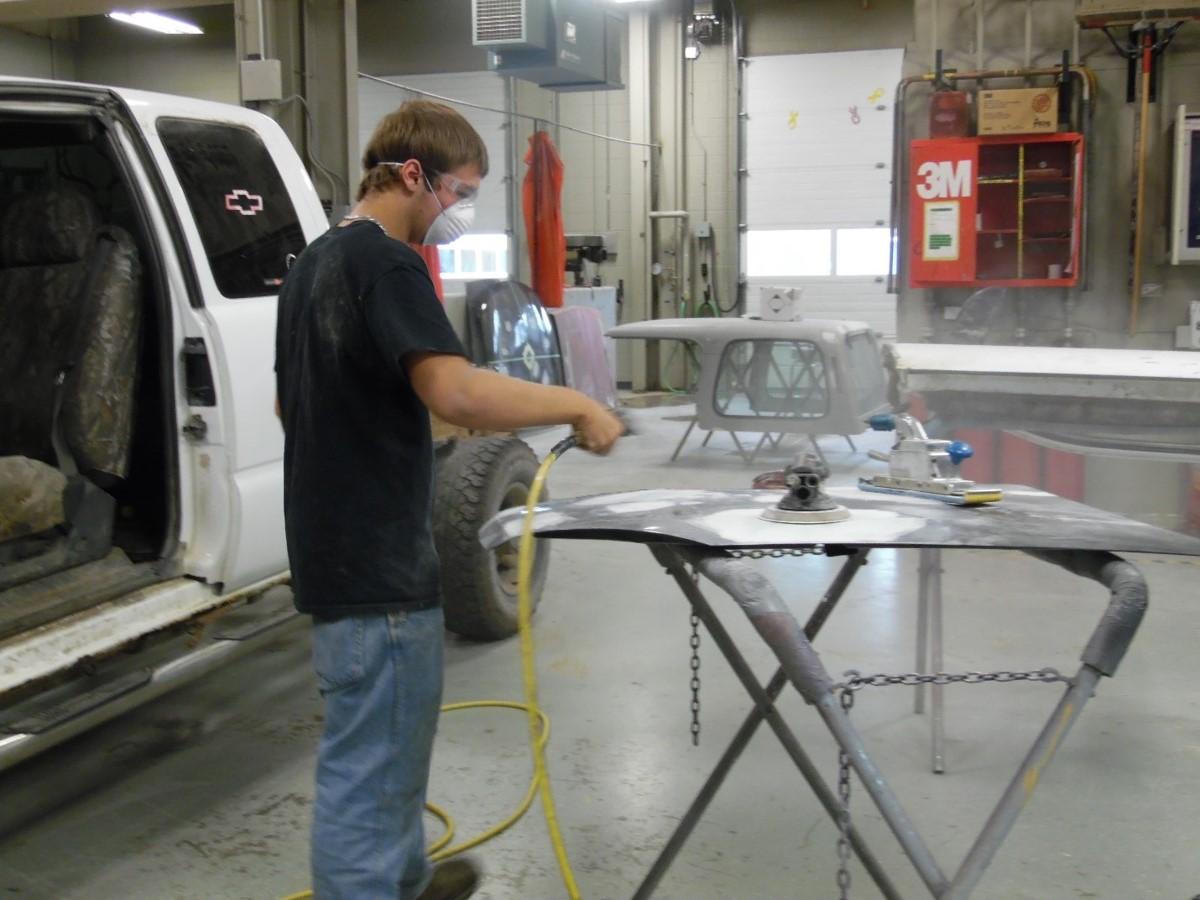 Repairing cars