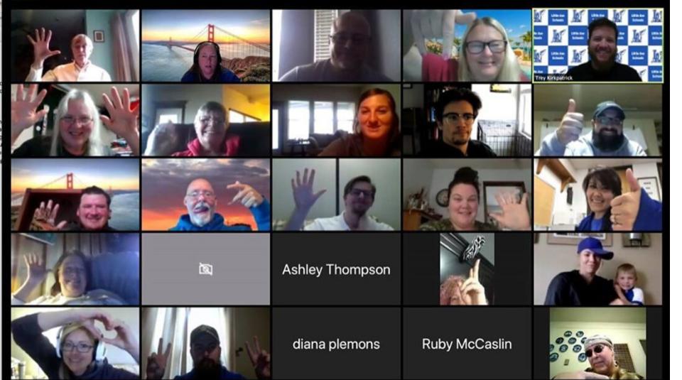 LAHS COVID-19 Staff Meeting